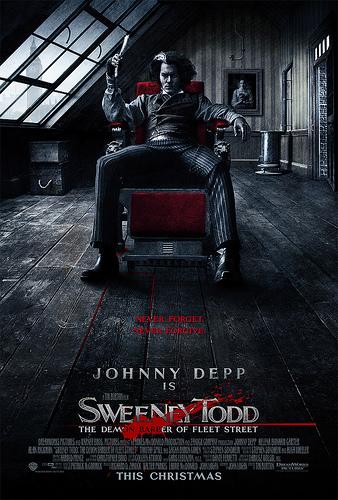 Cartel de Sweeny Todd